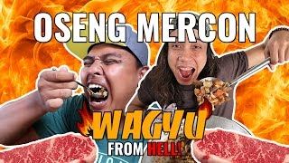 Video WAGYU OSENG MERCON DARI NERAKA!!! GERRY GIRIANZA ft. BLACK | AYO MAKAN download MP3, 3GP, MP4, WEBM, AVI, FLV Juni 2017