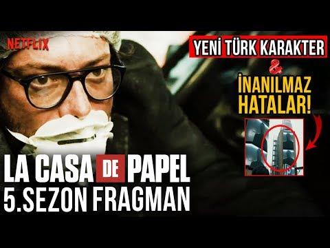 La Casa De Papel 5.Sezon Fragman - Yeni Türk Karakter