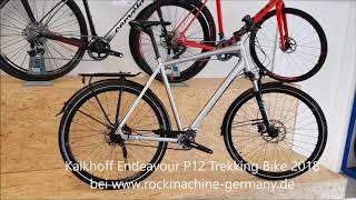 Kalkhoff Endeavour P12 Pinion , Gates Trekking Bike 2018 chromosilver glossy