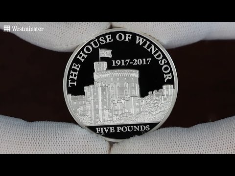 See how this coin marks 100 years of Royal Service for the House of Windsor