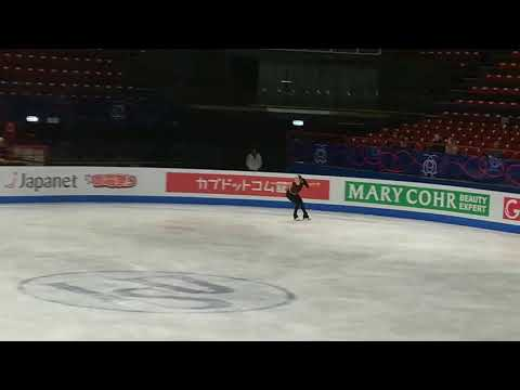 KAETLYN OSMOND PRACTICE - WORLD FIGURE SKATING CHAMPIONSHIPS 2018 LADIES