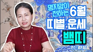 [용한무당 명지암] 2020년 양력 6월 띠별 운세 뱀띠 [남양주점집]
