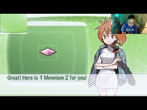 Pokemon Sun & Moon - How To Get Mewnium Z Through PokeBank