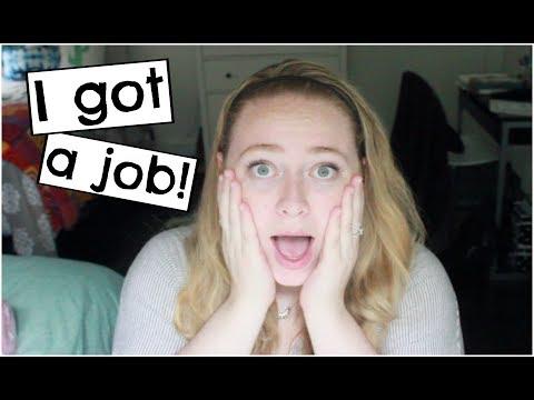 I Got a Job?! | Post-Grad Update