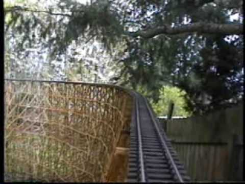 Terror Trestle – G-scale model train