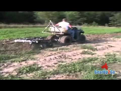 Tilling Example Video For Putting In Food Plots For Deer Hunting- Tilling Equipment- GearUp2Go.com