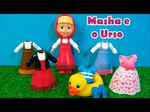 MASHA E O URSO - 6 CLOTHES - 6 ROUPAS - Masha and the Bear - МАША И МЕДВЕДЬ #MASHA #MASHAEOURSO
