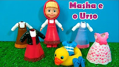 MASHA E O URSO - 6 CLOTHES - 6 ROUPAS - Masha and the Bear - МАША И МЕДВЕДЬ #MASHA #MASHAEOURSO