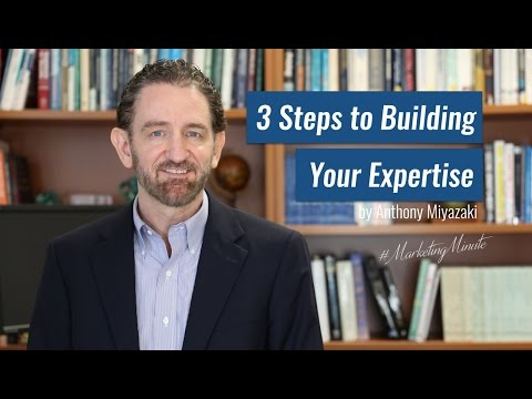 "Marketing Minute 038: ""How to Become an Expert"" (Personal Branding, Professional Branding)"