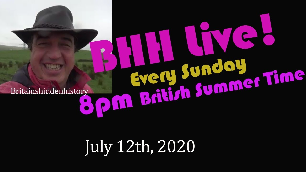 British Museum caught cheating and lots more - BHH Live 8- July 12th, 2020