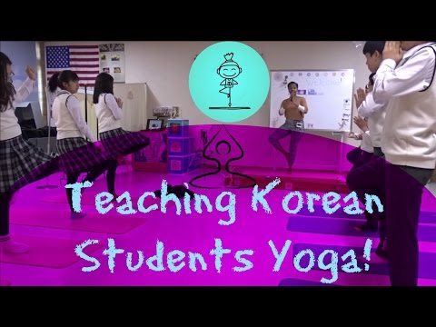 EPIK Teacher | Camp Lesson Idea: Yoga Competition!