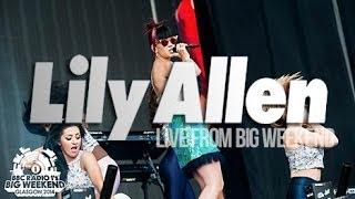 Lily Allen - Radio 1's Big Weekend, Glasgow 2014