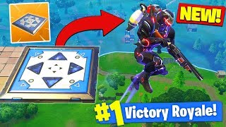 *NEW* BOUNCER TRAP GAMEPLAY In Fortnite Battle Royale!