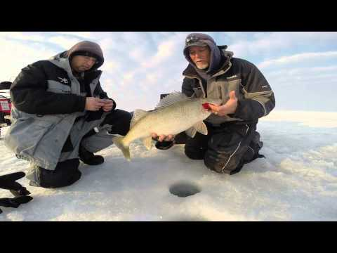Lake erie ice fishing trip march 8 2015 youtube for Lake erie ice fishing