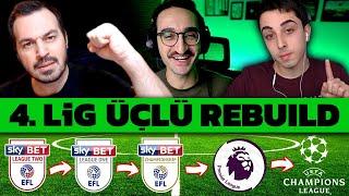 Farkli SÜper Format!! // 4. Lİg Rebuild Challenge // Fifa 20 Karİyer