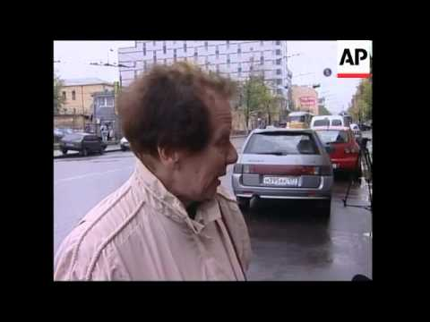 Reaction to murder of prominent journalist and Chechnya war critic