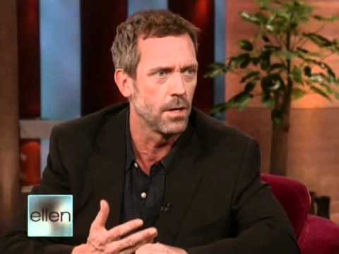 Hugh Laurie on Ellen 12.05.2008 whole interview