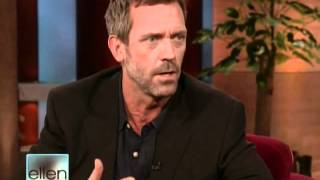Hugh Laurie on Ellen 12.05.2008 whole interview