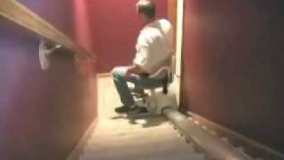 How to operate a stairlift.  How to use a stair lift