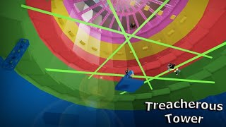 Trying to make it to the top of Treacherous towers