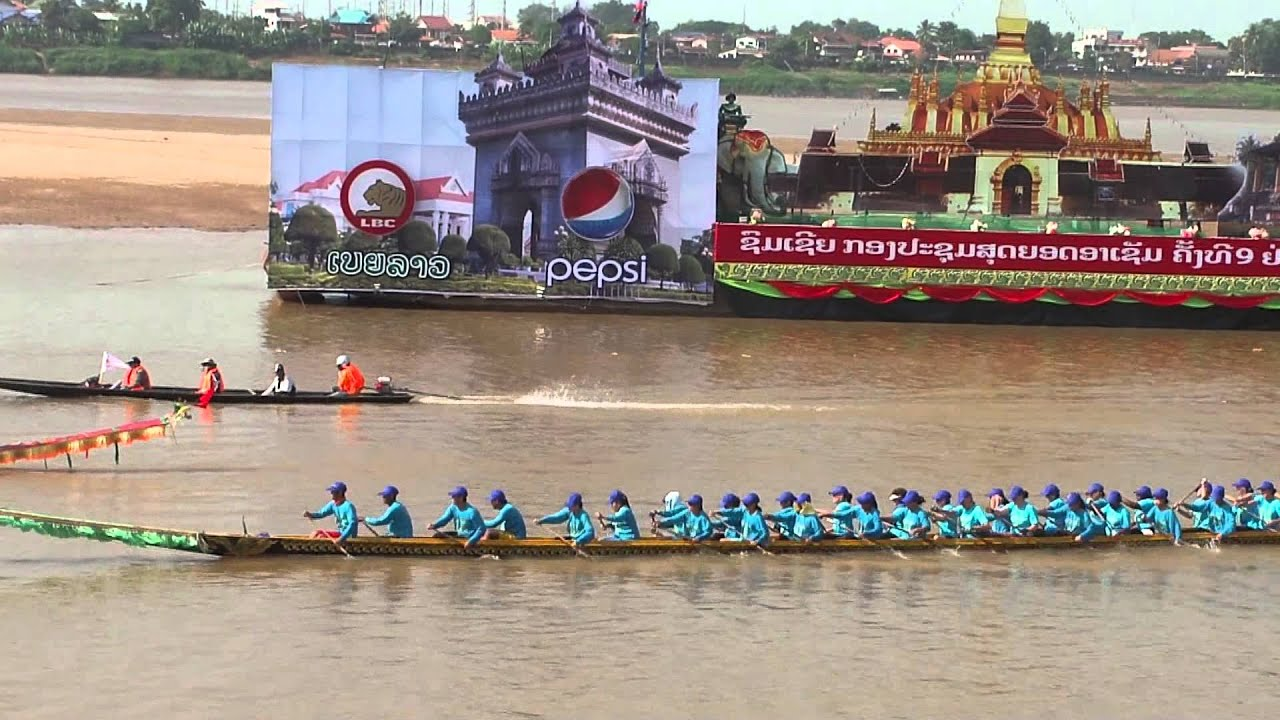 Image result for boat racing vientiane