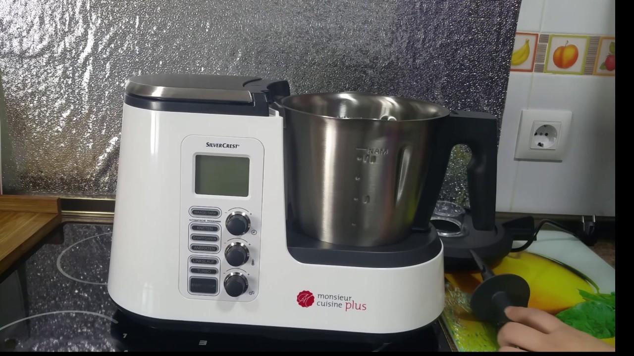 Presentacion y primer lavado de la monsieur cuisine plus for M cuisine plus lidl