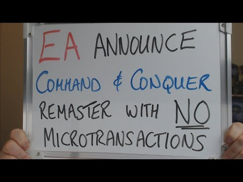 EA Announce COMMAND & CONQUER PC REMASTER with NO Microtransactions !!