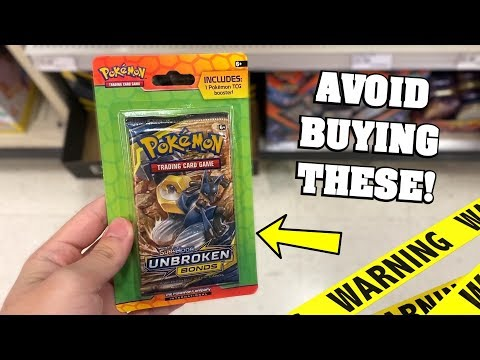 *AVOID BUYING THESE!* I Opened The STRANGEST Pokemon Cards Booster Packs EVER!