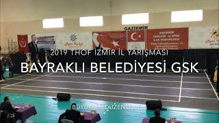 Bayraklı Belediyesi GSK   Büyükler Düzenlemeli   2019 THOF İzmir #Zeybekoloji