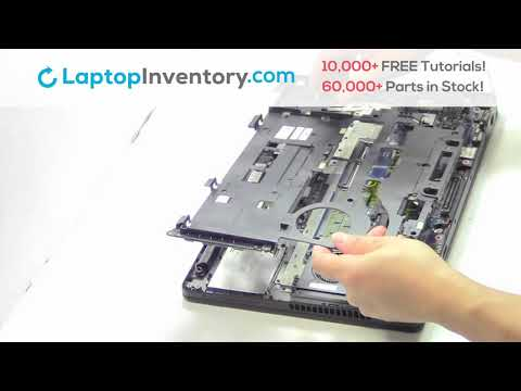 Repair Dell Latitude E5470 Laptop Motherboard and Fan