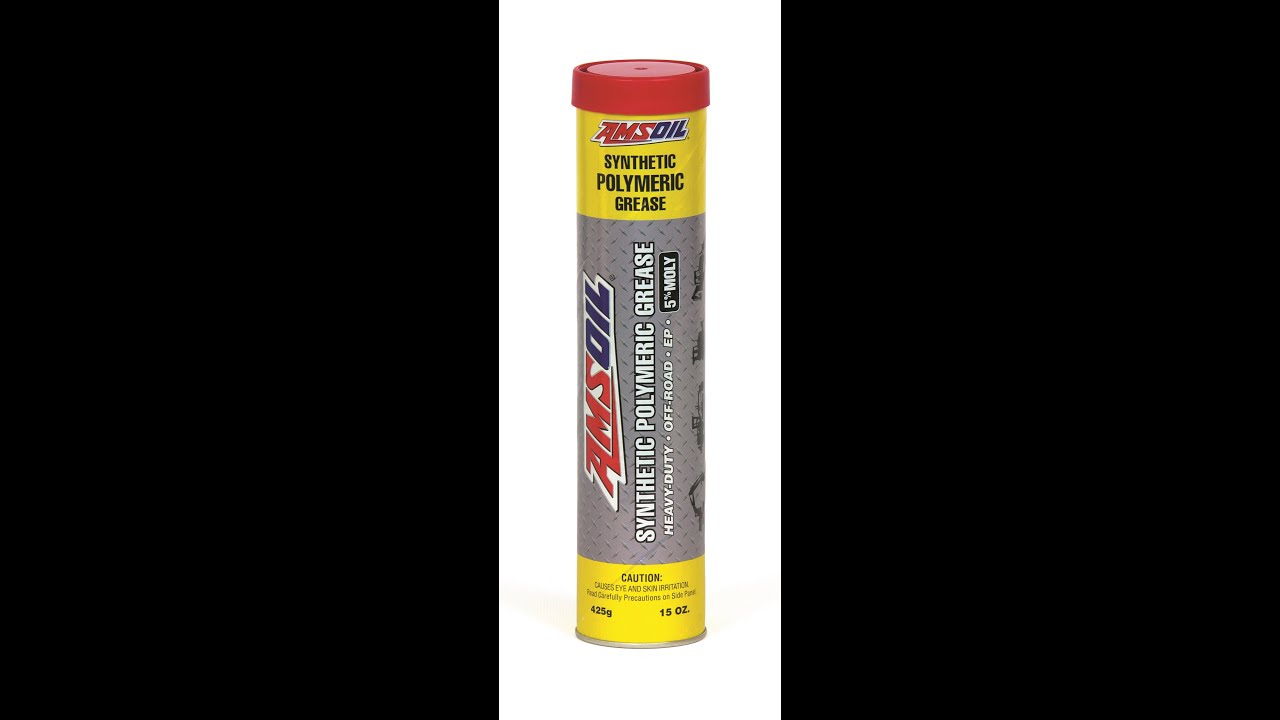 AMSOIL GPOR Synthetic Polymeric Off-Road Grease 5% Moly