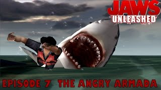 Let's Play Jaws Unleashed Ep.07 THE ANGRY ARMADA