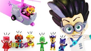 Paw Patrol Toy Learning Video for Kids - Adventure Bay Rescue Mission