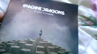 Unboxing Imagine Dragons Night Visions Deluxe Edit