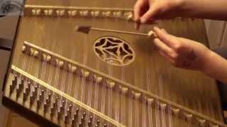 The Grand Budapest Hotel Medley - (hammered dulcimer/Hackbrett cover)