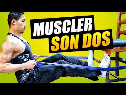 MUSCLER SON DOS - A LA MAISON, SANS MACHINE DE SPORT !