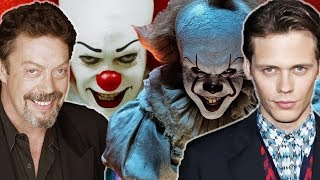 """Pennywise (""""IT"""") Voice Comparisons - (Tim Curry & Bill Skarsgård)"""