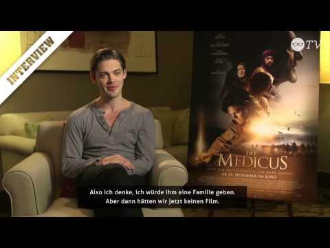 "C2W Interview: Tom Payne (""Der Medicus"") - YouTube"