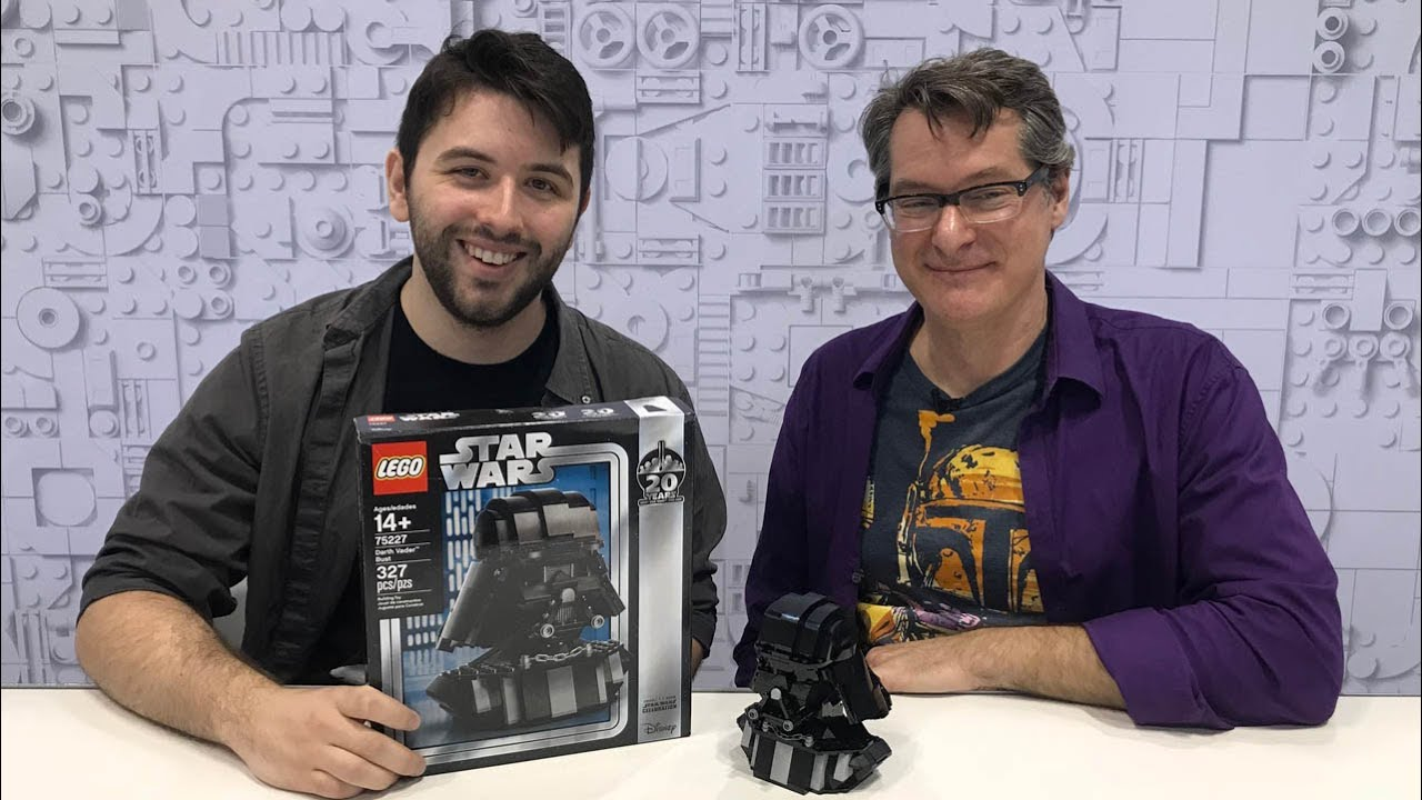 LEGO 75227 Darth Vader Bust Star Wars Celebration 2019 Exclusive Limited Edition