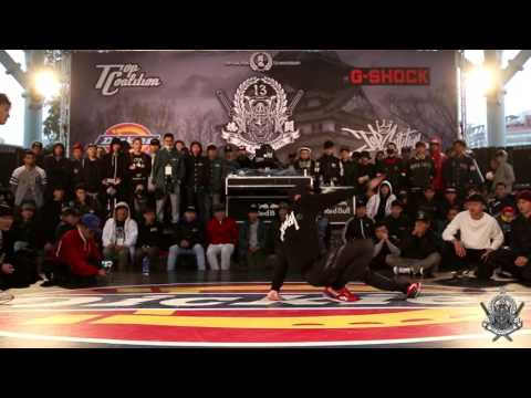 BBOY 1 ON 1 CALL OUT Best 16 1 ZOOTY vs 小哈利 | 20160219 TC 13th anniversary