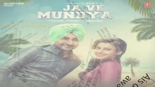 Download Hindi Video Songs - Ja Ve Mundya Ranjit Bawa Lyrical Video
