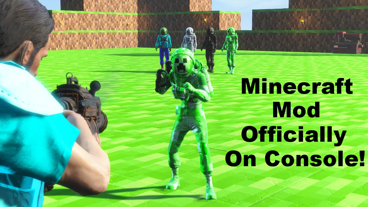 Fallout 4 Minecraft Mod Is Now On Console Youtube