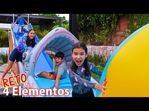 Reto Mini 4 ELEMENTOS con todo EL TEAM   TV Ana Emilia