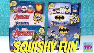 Avengers & Batman Mashems Blind Capsules Full Set Unboxing Toys Review   PSToyReviews