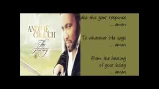 Andrae Crouch   Let the Church Say Amen-- by  Pastor Marvin Winans