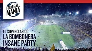 La Bombonera Insane Party - Boca Juniors Amazing Entrance Vs. River Plate