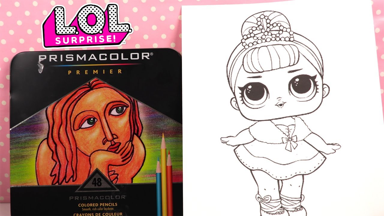 Poupees Lol Coloriage Crystal Queen Coloring Youtube