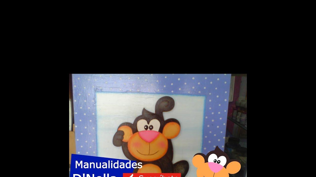 Manualidades cuadros infantiles de trupan by taller nella - Manualidades faciles cuadros ...