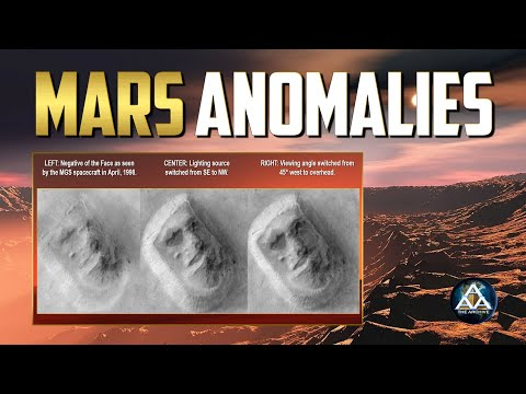 Mars Most Mysterious Anomalies