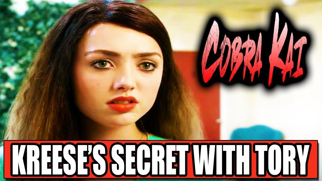 Download KREESE IS HIDING THIS SECRET FROM TORY (Cobra Kai Season 4)